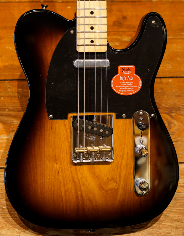 Fender Classic Player Baja Telecaster 2-Color Sunburst MN