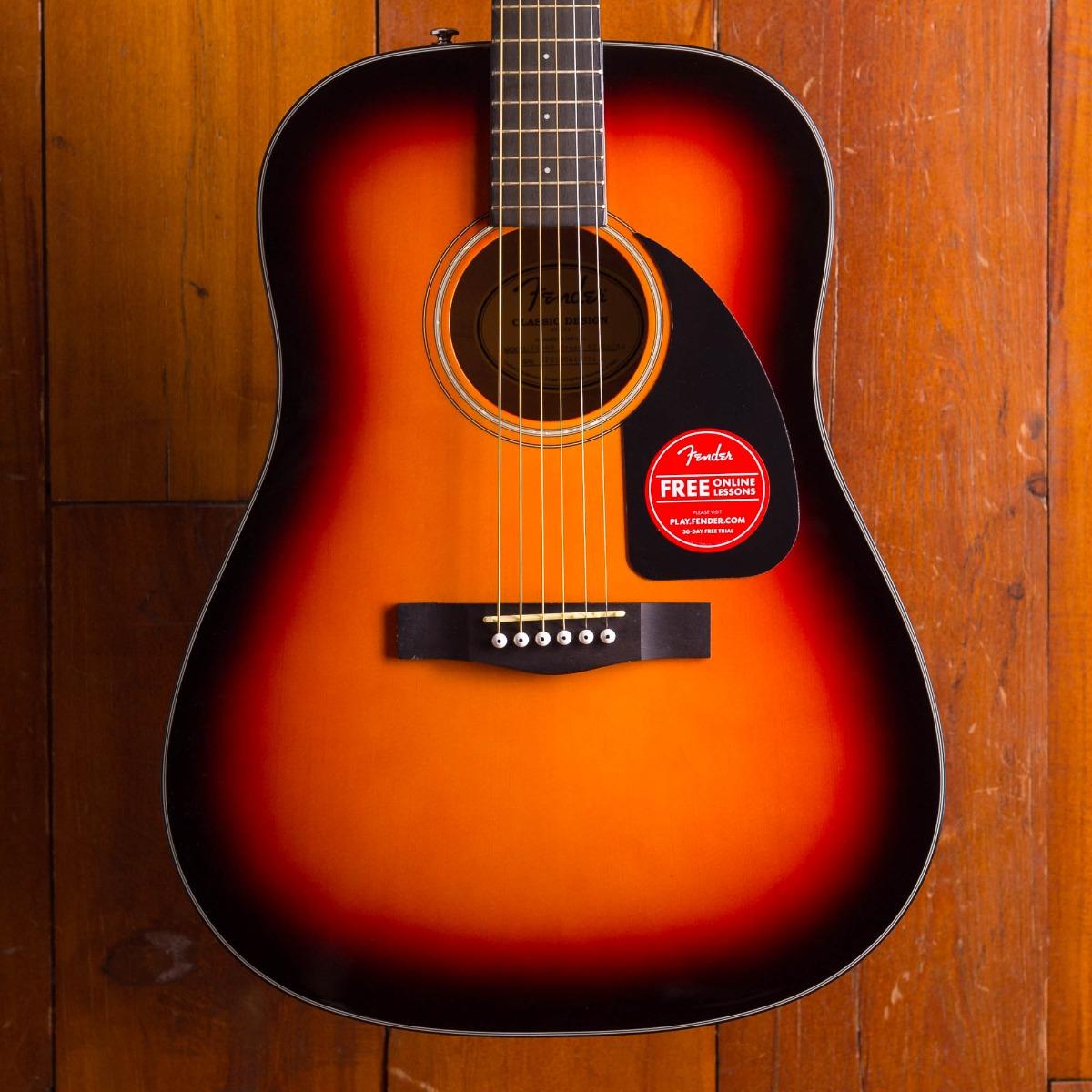 Fender CD 60 V3 Sunburst