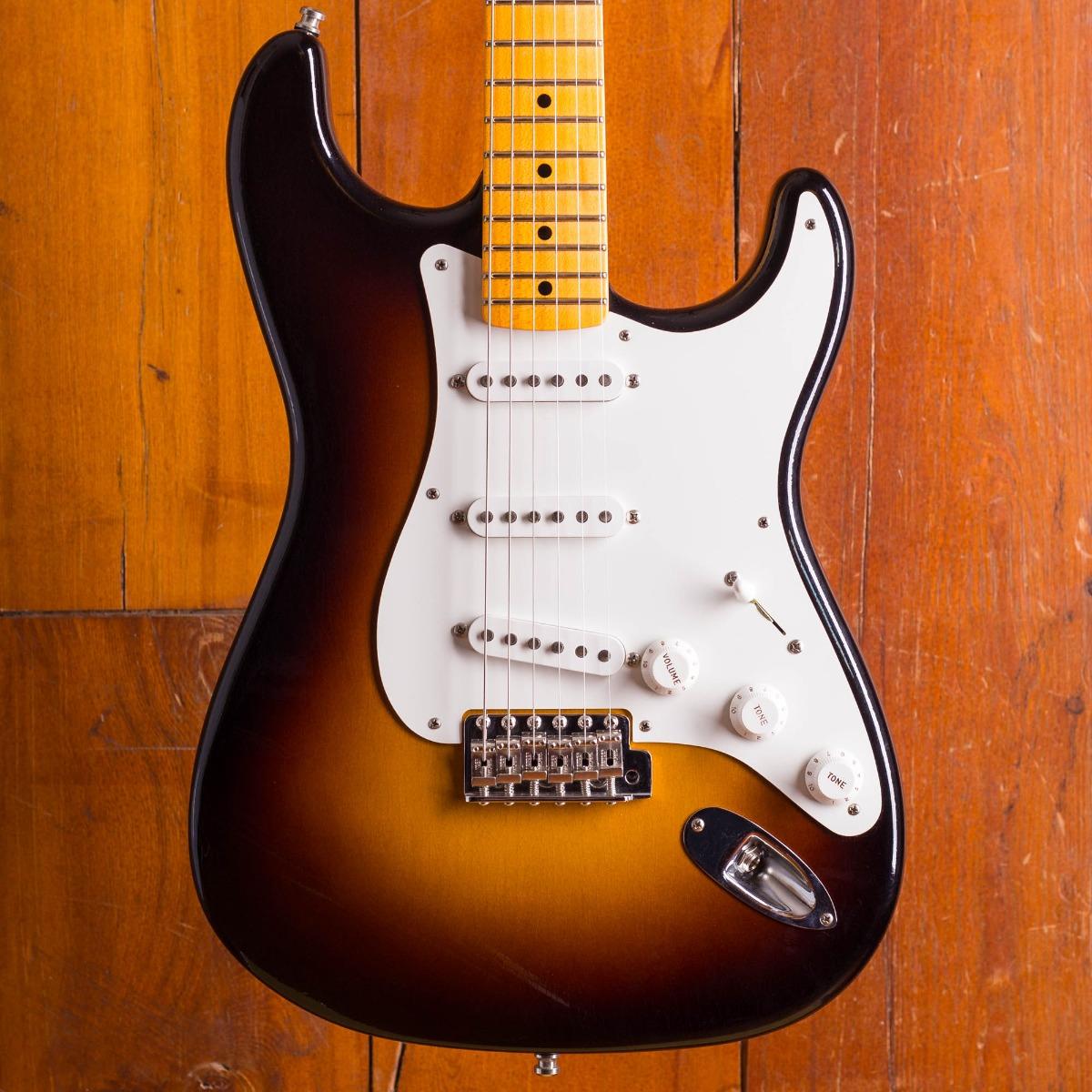 Fender Jimmie Vaughan Strat LCC Wide Fade 2-Color Sunburst