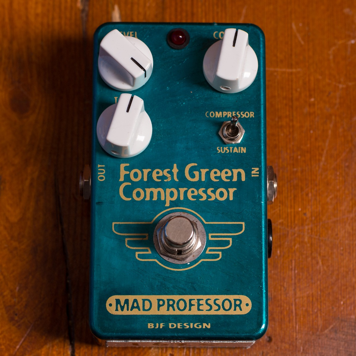 Mad Professor Pedals Forest Green Comp Handwired 004