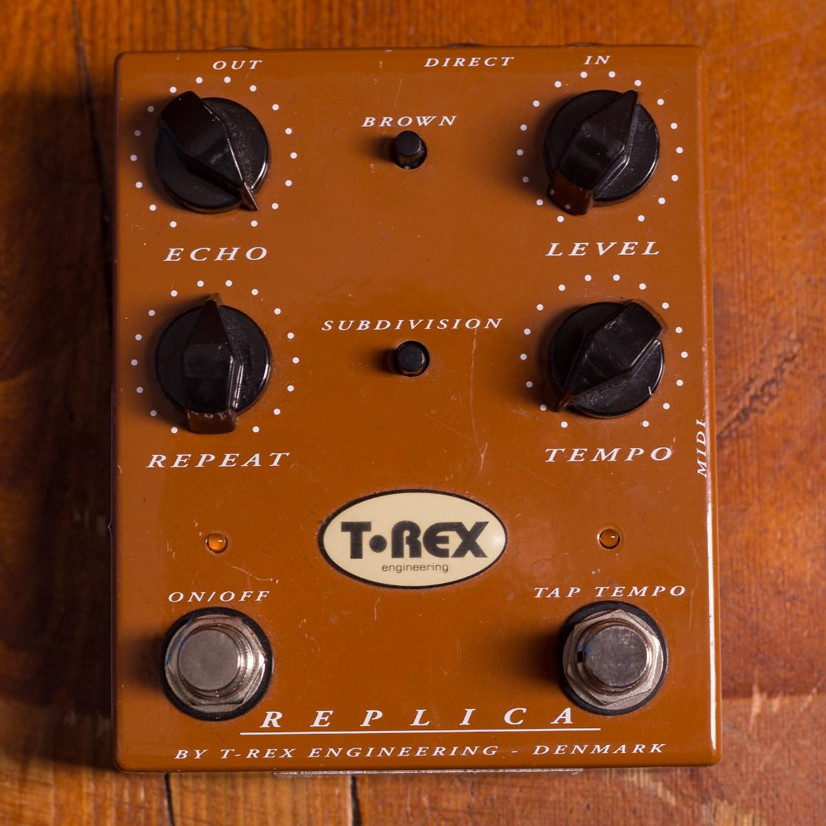 T Rex Effects Powersupplies Replica Delay