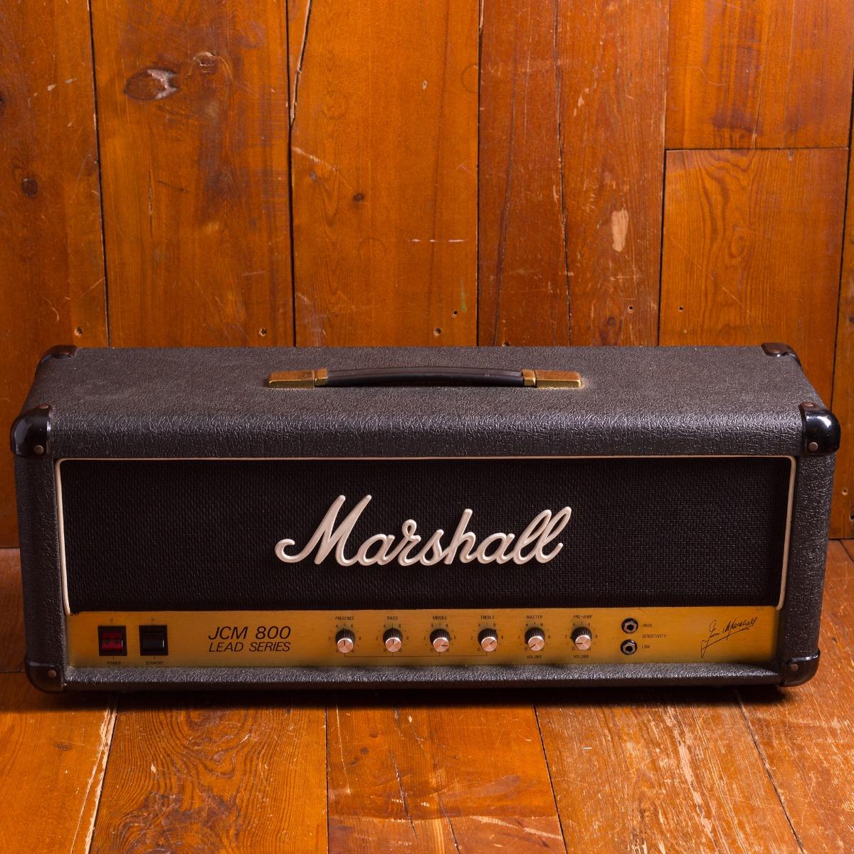 Marshall 1981 JCM 800 2204 Head 1981