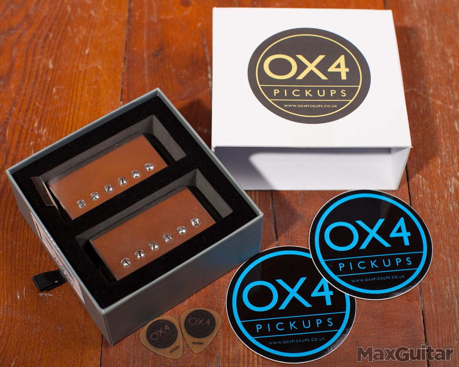 OX4 Humbucker Set Low Output Aged