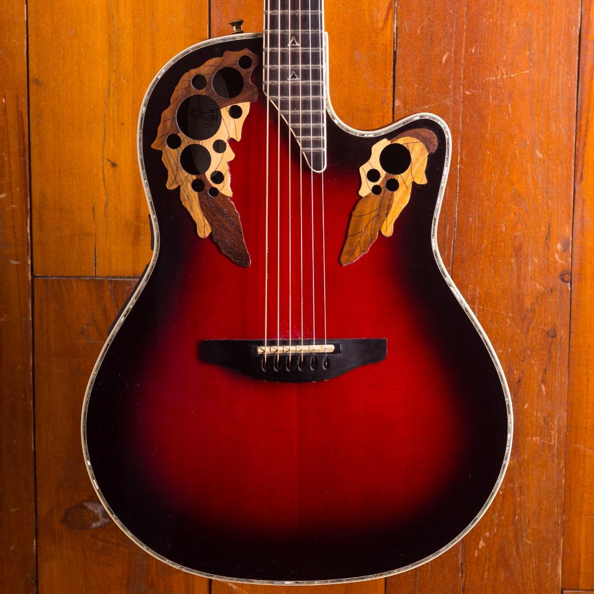 Ovation Guitars Shallow bowl CE 868 Custom Elite USA