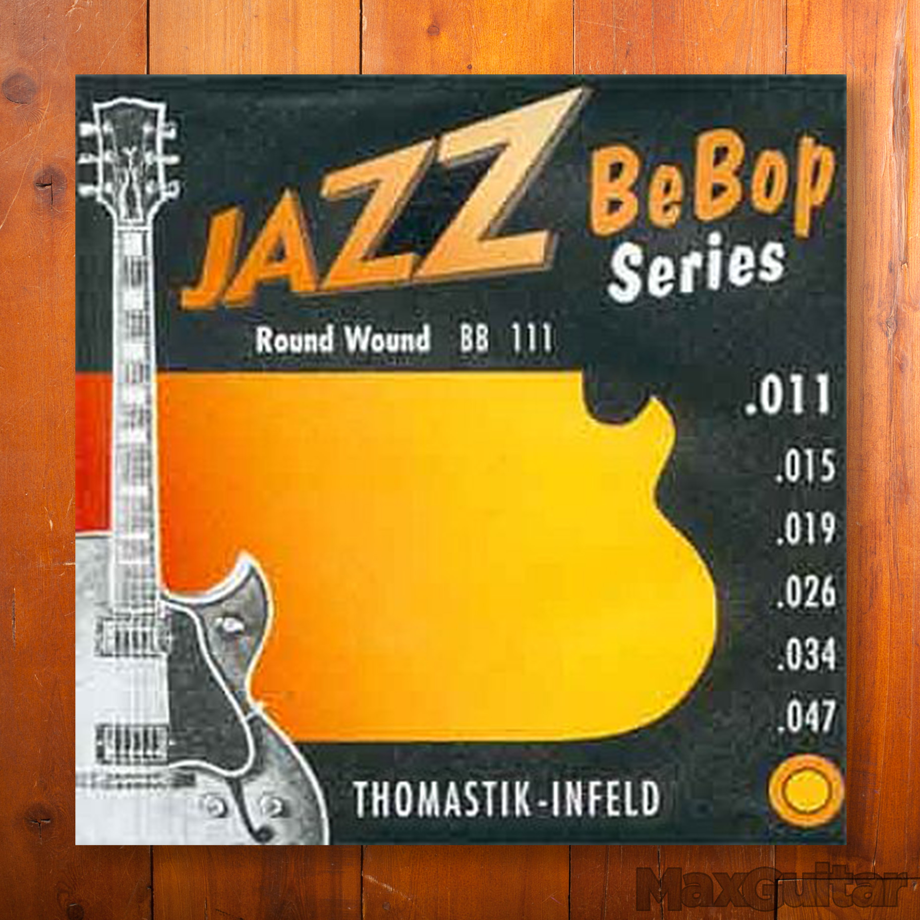 Thomastik-Infeld BB111 Jazz BeBop Roundwound Extra Light