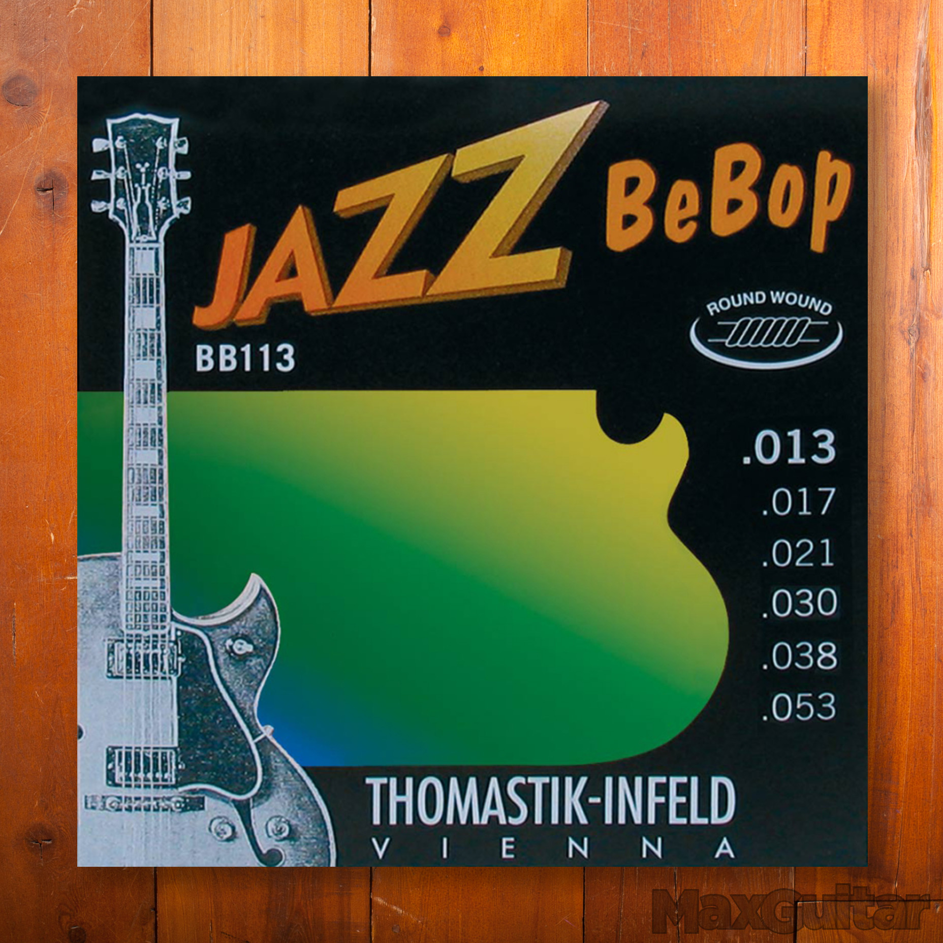 Thomastik-Infeld BB113 Jazz BeBop Roundwound Medium Light